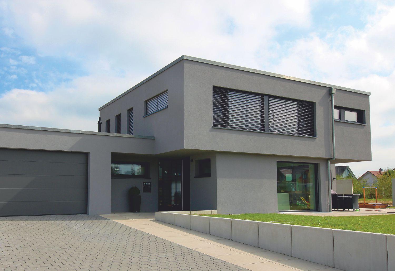 Einfamilienhaus exklusiv mit flachdach m rth stocker for Einfamilienhaus flachdach