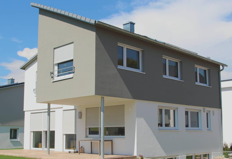 Einfamilienhaus Originell Mit Versetztem Pultdach Morth