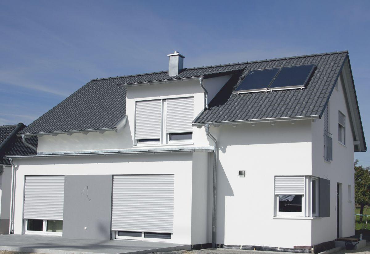 """Künstlerisch Einfamilienhaus Satteldach Dekoration Von """"life"""" Mit"""